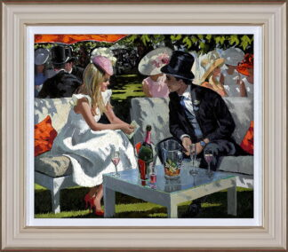 Ascot Glamour Framed By Daines