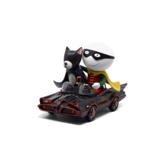 Catman and Robin Sculpture by Doug Hyde