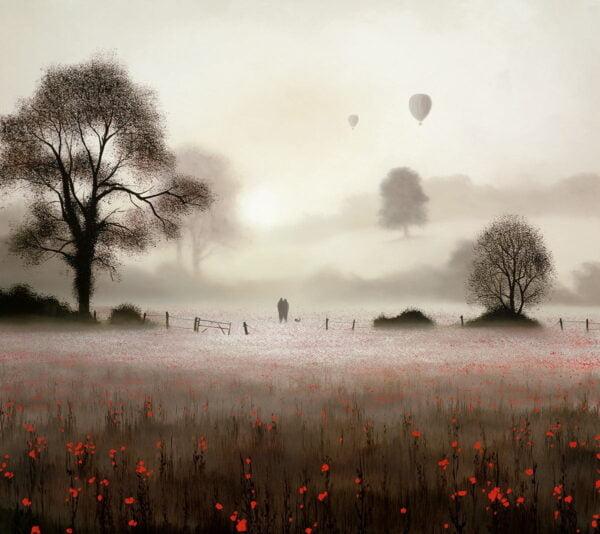 Dawn Voyagers unframed by John Waterhouse