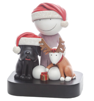 Doug Hyde Christmas Sculpture