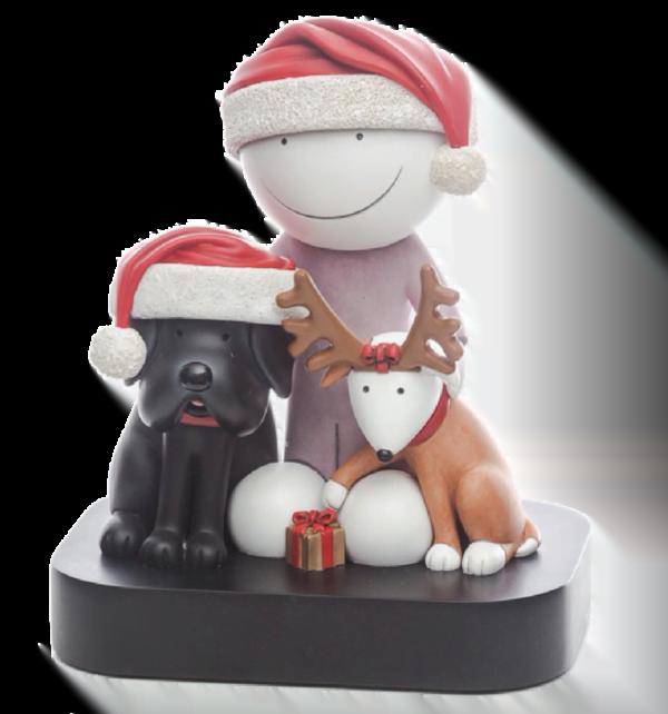 Doug Hyde Christmas Sculpture