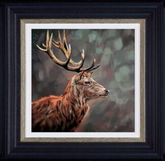 Lord and Master Framed by Debbie Boon
