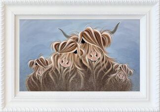 My Herd Framed by Jennifer Hogwood