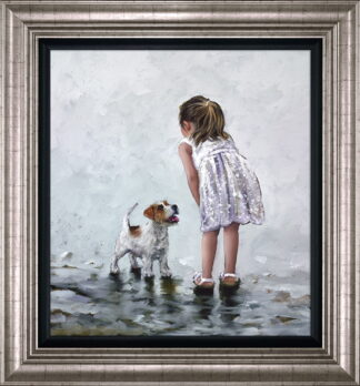 puppy Love Framed by Keith Proctor