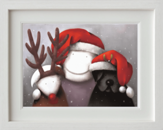 Doug Hyde Christmas Framed