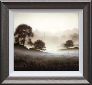 Sunday Morning Framed by John Waterhouse