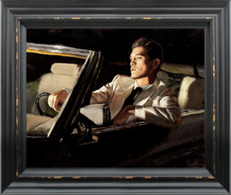 late drive Framed by Fabian Perez