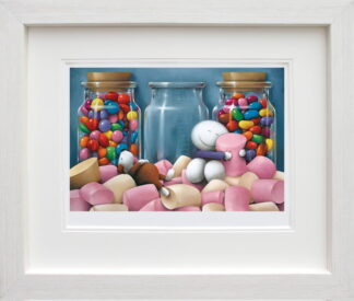 life is sweet framed by Doug Hyde