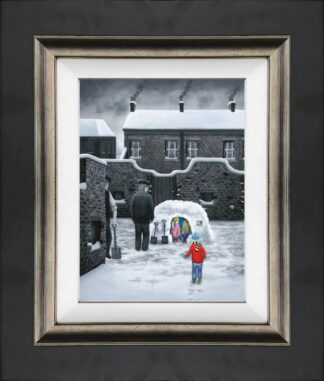Room for one more canvas framed by leigh lambert