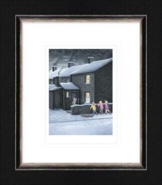 a parting shot by leigh lambert framed paper