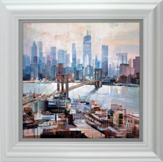 Big City Blues Framed Tom Butler
