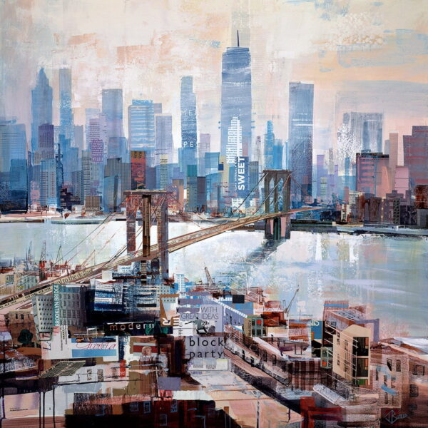 Big City Blues unframed Tom Butler