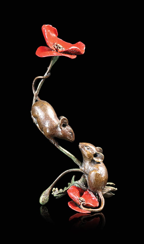 1073 Two Mice with Poppy
