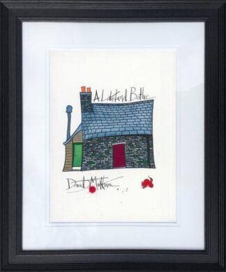 A Lakeland Bothie by Dave Markham Framed
