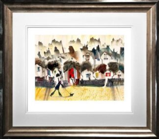 April Showers by Sue Howells Framed