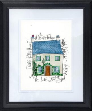 Beatrix Potter's House By Dave Markham Framed
