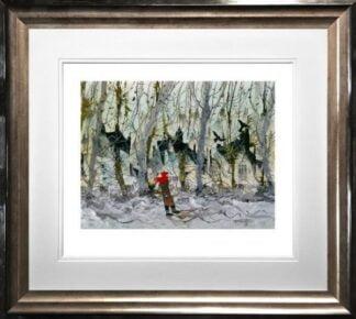 Birdwatching By Sue Howells Framed]