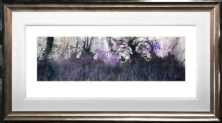 Bluebells Galore By Sue Howells Framed