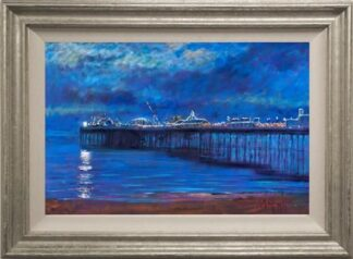 Brighton Pier by Timmy Mallett Framed