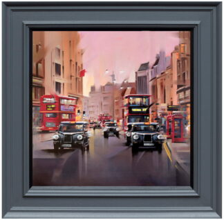 City Streets Canvas Framed Neil Dawson