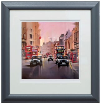 City Streets Paper Framed Neil Dawson