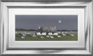 Coastal Croft by Nick Potter Framed