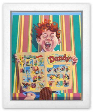 Dandy by Frank Harwood framed