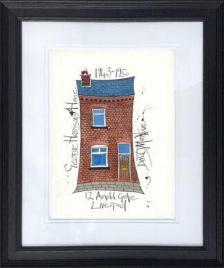 George Harrison's House By Dave Markham Framed