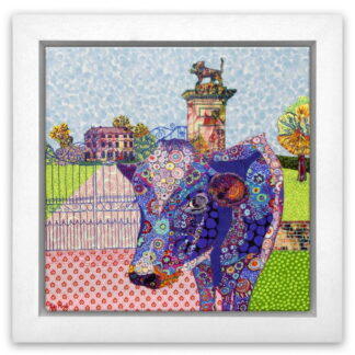 Hazelgrove Gate by Katy Rundle framed
