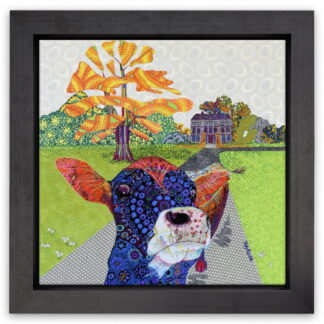 Hazelgrove approach by Katy Rundle framed