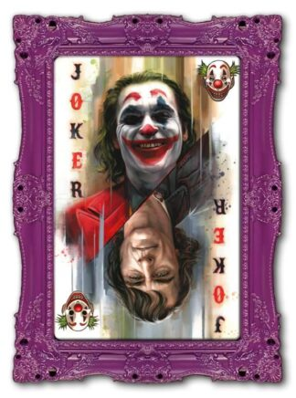 Joker Deluxe Ben Jeffry Framed