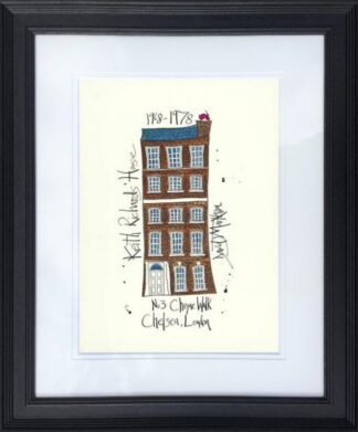 Keith Richards House framed by Dave Markham