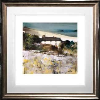Laugharne Cottage By Sue Howells Framed