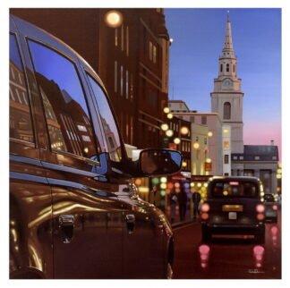 London Dusk Reflection Neil Dawson