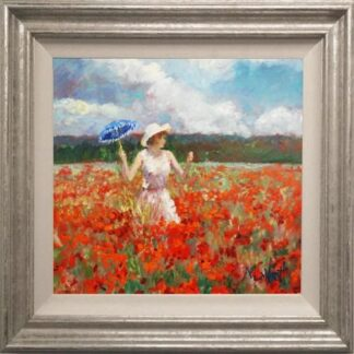 Monet's Poppies by Timmy Mallett Framed