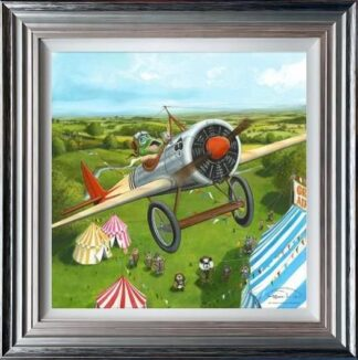 Mr Toads Fantastic Air Display by Dale Bowen Framed