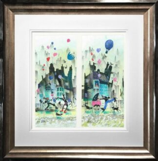 Much Ado About Nothing Dyptich Sue Howells Framed