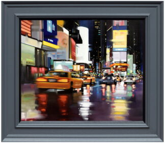 New York City Motion Canvas Framed Neil Dawson