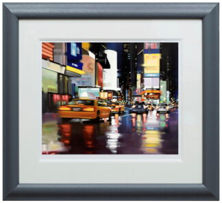New York City Motion Paper Framed Neil Dawson