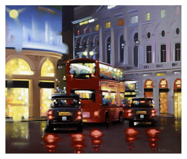 Piccadilly Night Adventure Neil Dawson