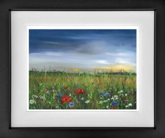 Poppy Dawn by Kimberley Harris Framed