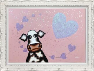 SURROUNDED BY LOVE CAROLINE SHOTTON ORI FRAMED