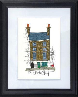 Sherlock Holmes' House By Dave Markham Framed