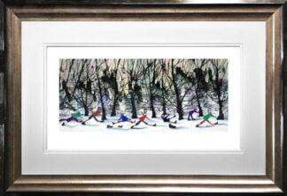 Slip Sliding Away by Sue Howells Framed