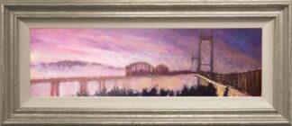Tamar Bridge by Timmy Mallett Framed