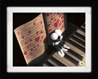 The Sound of Music by Mark Grieves Framed