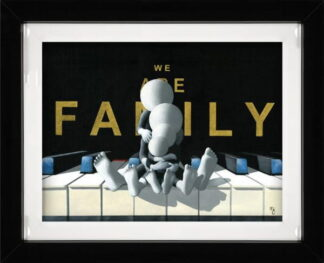 We are Family by Mark Grieves Framed