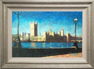 Westminister Sunshine by Timmy Mallett Framed