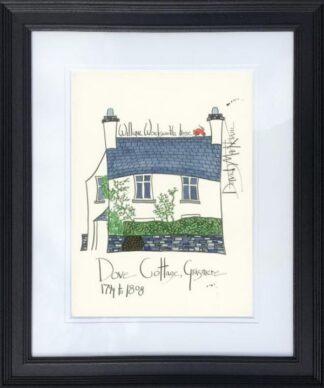 William Wordsworth's House By Dave Markham Framed