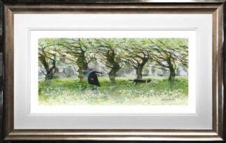 Windy Walkers by Sue Howells Framed